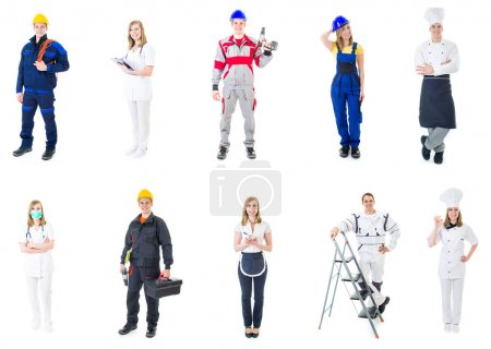 Photo for Professions - Royalty Free Image