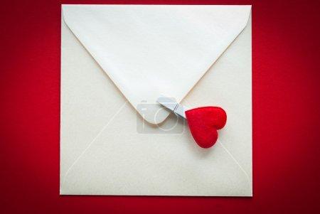 Photo pour Lettres blanches - image libre de droit