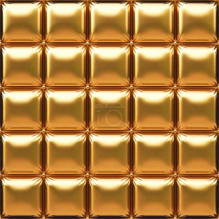 Photo pour Cuir doré luxueux - image libre de droit