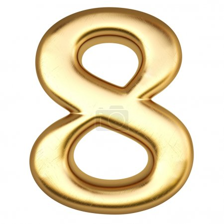 Number from gold
