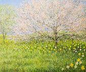 """Постер, картина, фотообои """"Весной впечатление"""""""