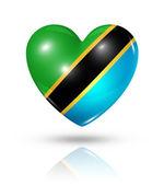 Láska Tanzanie, ikonu příznaku srdce