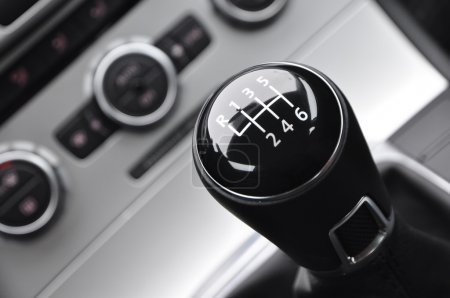 Manual car gear shift
