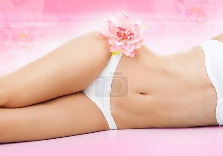 Women spa body beauty legs, sexy figure girl