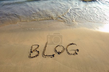 Photo for Blog sign - Royalty Free Image