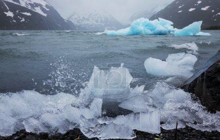 Photo pour Iceberg sur alaska - image libre de droit
