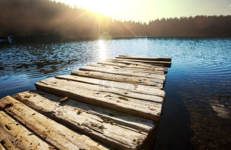 Photo for Lake and sun - Royalty Free Image