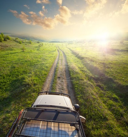 Journey by jeep