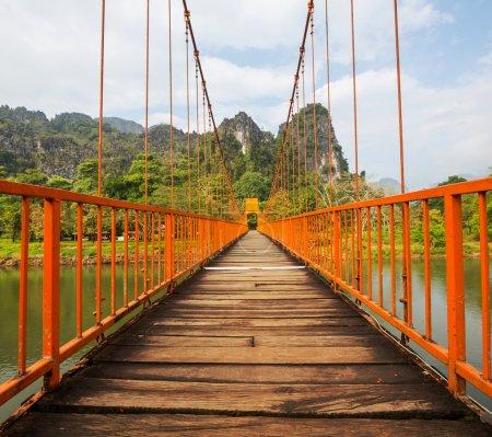 Bridge in Vang Vieng