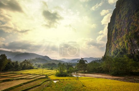 Landscapes in Laos