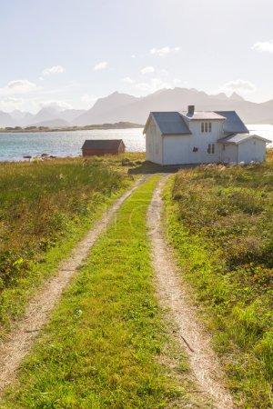 Photo pour Île de Lofoten, Norvège - image libre de droit