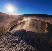 Sol de Manana, Bolivia