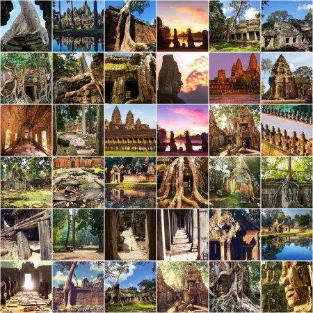 Angkor collage