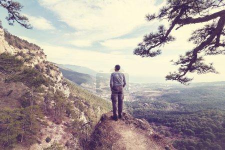 Crimean mountain...