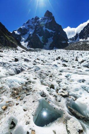 Ushba peak