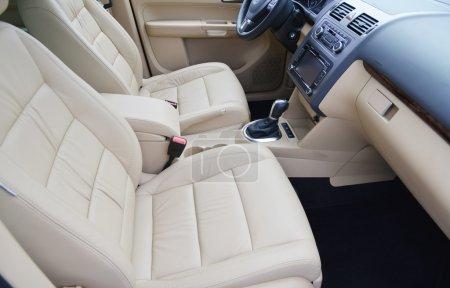 Photo pour Siège d'auto pour pilote. - image libre de droit