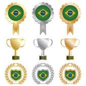 gold silver bronze brazil