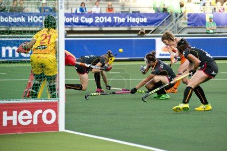 World Cup Hockey: Netherlands - Belgium