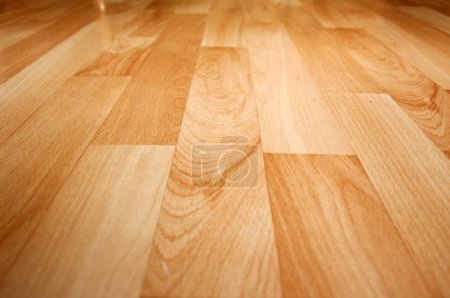 Wooden laminated floor