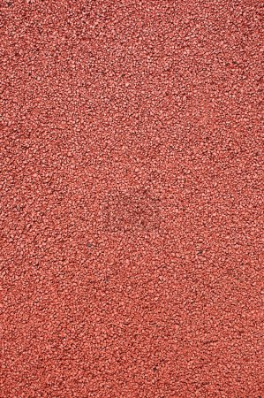 Photo for Texture of the artificial running surface for the sport of track and field athletics. - Royalty Free Image