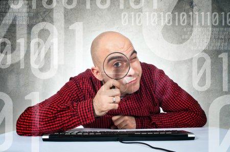 Binary search concept