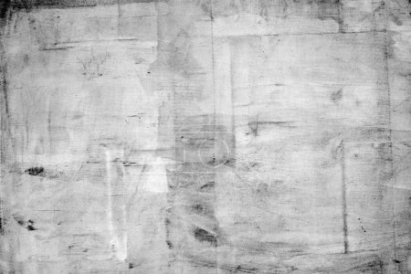 Photo for Large concrete wall, detailed plaster texture as abstract grunge background - Royalty Free Image