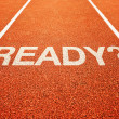 Question ready on athletics all weather running track