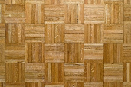 Photo for Oak parquet texture, home interior background image. - Royalty Free Image