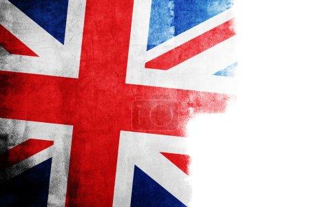 Drapeau Grunge de Grande-Bretagne