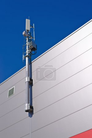 GSM Antenna. Mobile phone signal repeater.
