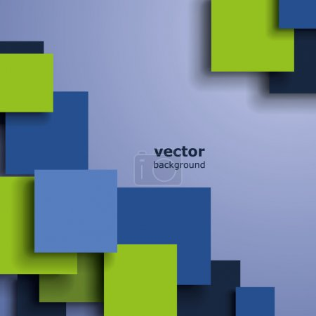 Illustration for Green and Blue Abstract Background Concept Design Illustration in Editable Vector Format - Royalty Free Image