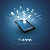 Success - Buy and Sell Online - Graphic Design Concept