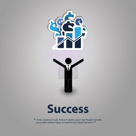 Success - Graphic Design Concept