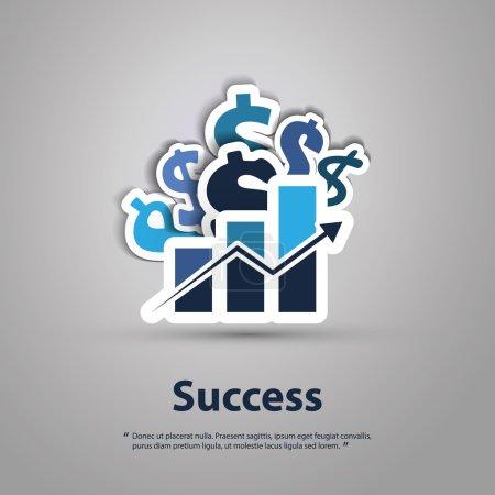 Success - Graphic Design Concept