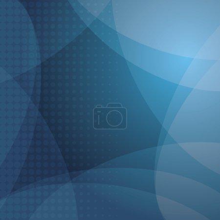 Illustration pour Abstrait bleu fond vecteur - image libre de droit