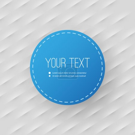 Abstract Background with Minimal Circular Text Box Design