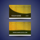 Abstract Colorful Modern Styled Business Card Template Creative Design Back and Front Side - Illustration in Freely Editable Vector Format
