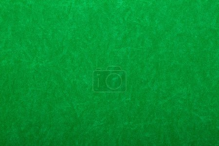 Green felt on casino table