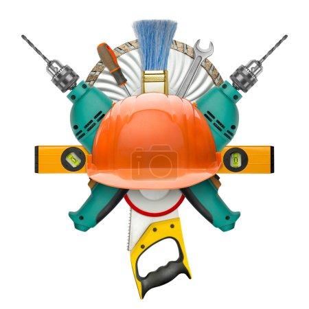 Industrial symbol of tools