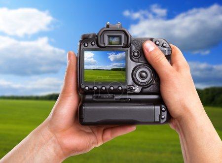 Capturing rural landscape