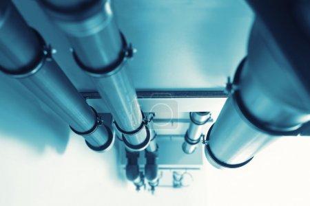 Photo pour Pipelines - système d'alimentation en eau. tonique - image libre de droit