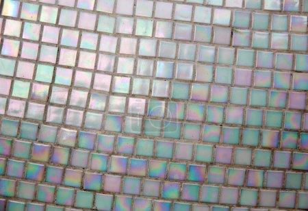 Photo pour Fond abstrait de mur de tuiles de perles - image libre de droit