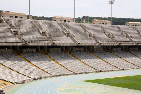 Tribunes of olympic stadium