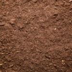 Fresh brown soil background...