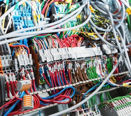 Electrical supplies closeup
