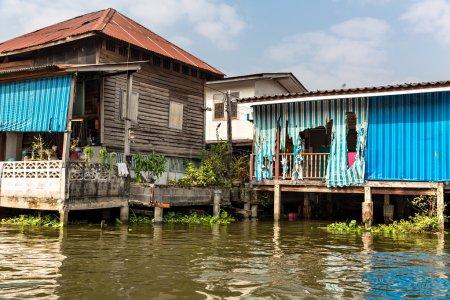 Slum on canal