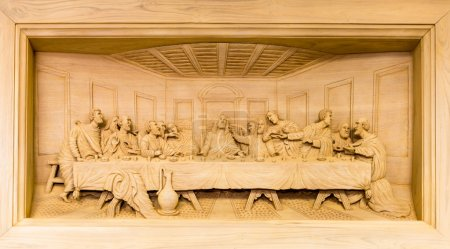 Lord wood carving