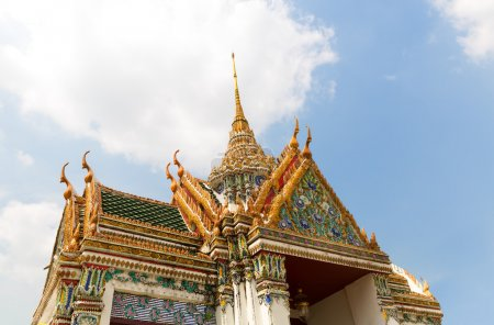 Roof of Wat Po Temple