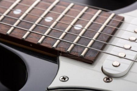 Photo for Closeup of modern electric guitar - Royalty Free Image