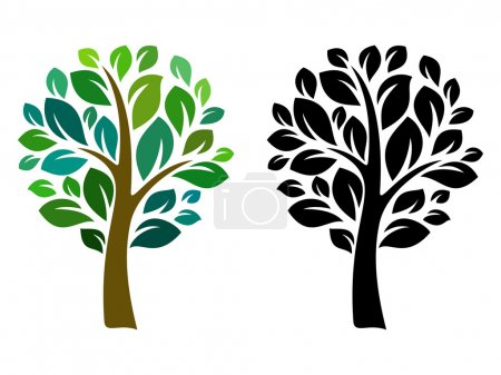 Illustration for Vector tree 12 - Royalty Free Image